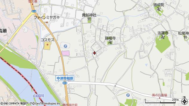 大分県中津市相原3629周辺の地図