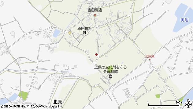 大分県中津市北原331周辺の地図