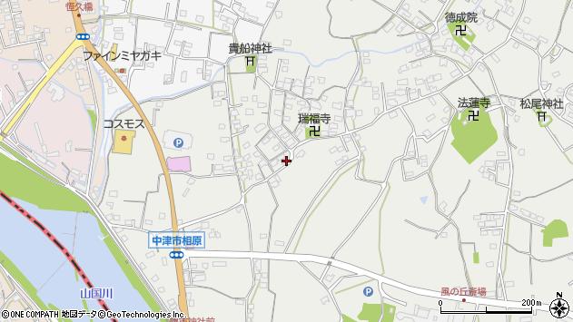 大分県中津市相原3618周辺の地図
