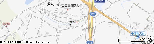 大分県中津市犬丸2352周辺の地図