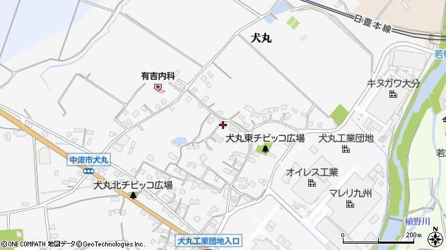 大分県中津市犬丸551周辺の地図