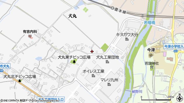 大分県中津市犬丸457周辺の地図
