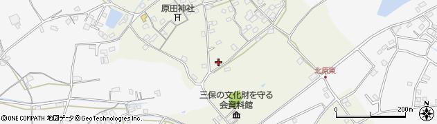 大分県中津市北原237周辺の地図