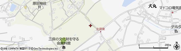 大分県中津市北原156周辺の地図