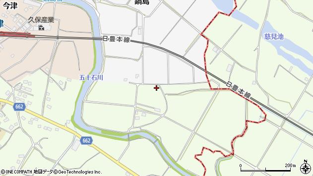 大分県中津市植野2084周辺の地図