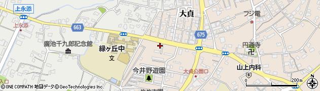 大分県中津市大貞322周辺の地図