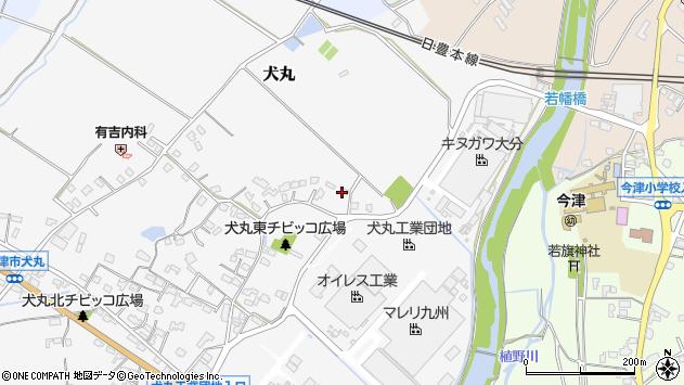 大分県中津市犬丸463周辺の地図