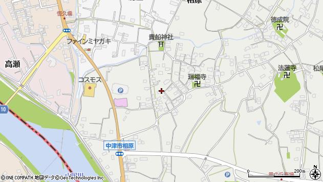 大分県中津市相原3631周辺の地図