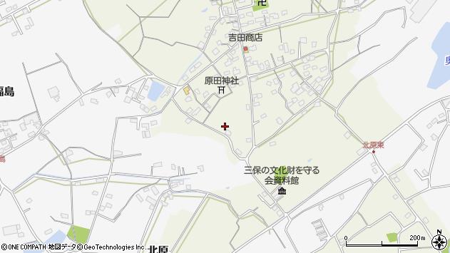 大分県中津市北原321周辺の地図