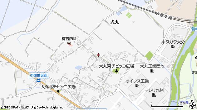 大分県中津市犬丸531周辺の地図