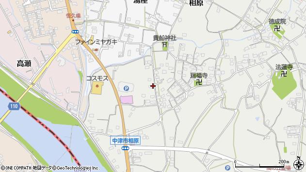 大分県中津市相原3344周辺の地図
