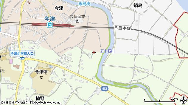 大分県中津市植野1987周辺の地図