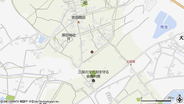 大分県中津市北原246周辺の地図