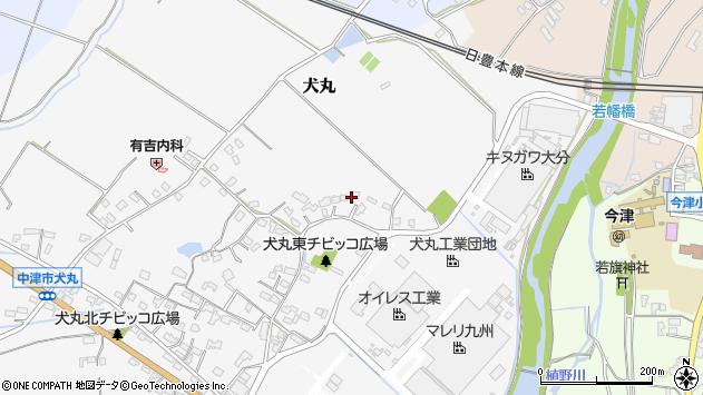 大分県中津市犬丸470周辺の地図