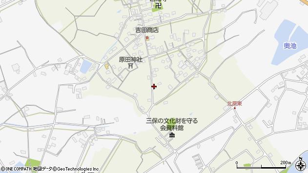 大分県中津市北原271周辺の地図