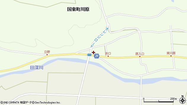 大分県国東市国東町川原395周辺の地図