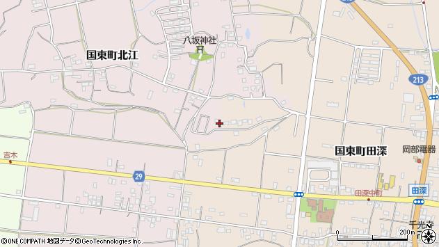 大分県国東市国東町北江967周辺の地図