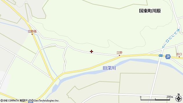 大分県国東市国東町川原2604周辺の地図