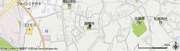大分県中津市相原3597周辺の地図