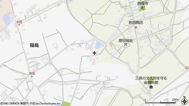 大分県中津市北原422周辺の地図