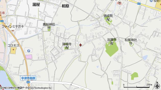 大分県中津市相原3582周辺の地図