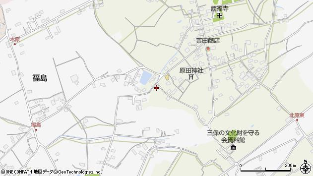 大分県中津市北原369周辺の地図