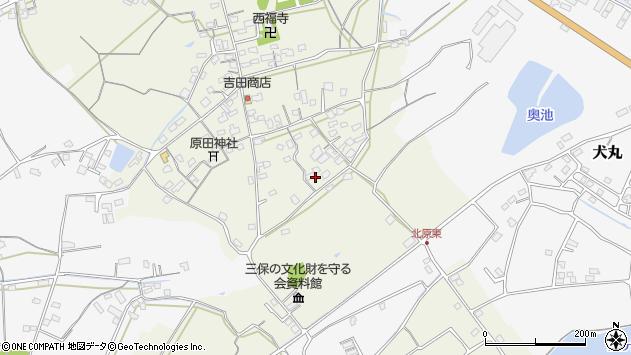 大分県中津市北原254周辺の地図