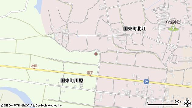 大分県国東市国東町川原429周辺の地図