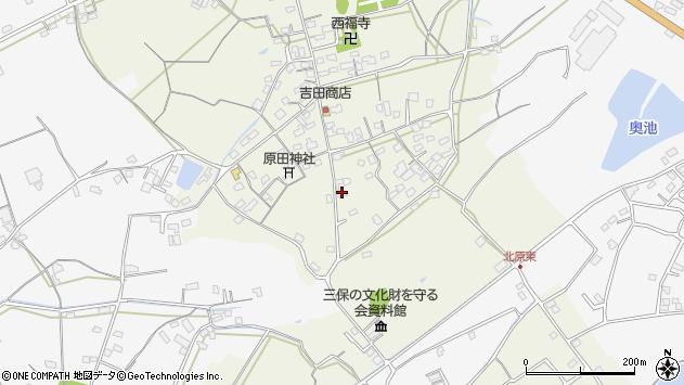 大分県中津市北原270周辺の地図
