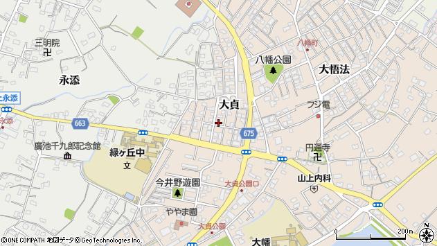 大分県中津市大貞346周辺の地図