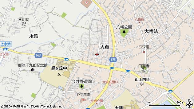 大分県中津市大貞345周辺の地図