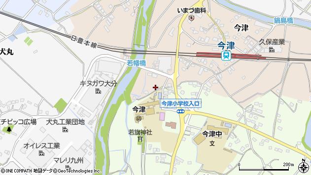 大分県中津市今津1119周辺の地図