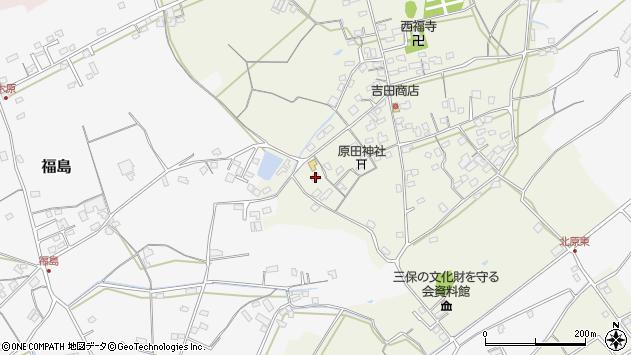 大分県中津市北原384周辺の地図