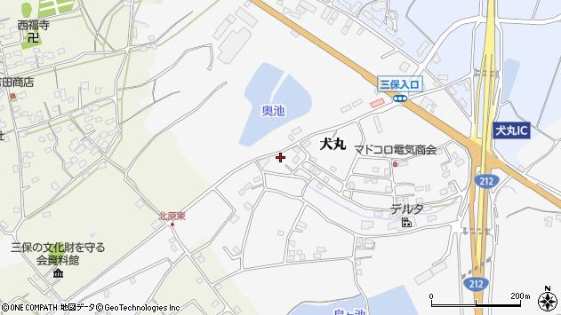 大分県中津市犬丸2327周辺の地図