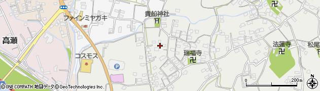 大分県中津市相原3657周辺の地図