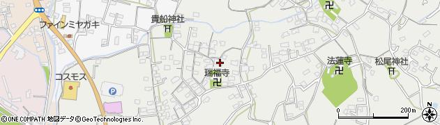 大分県中津市相原3598周辺の地図
