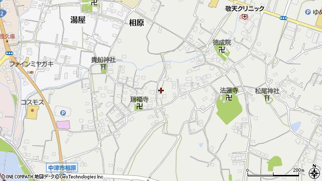 大分県中津市相原3576周辺の地図