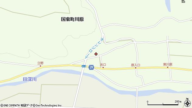 大分県国東市国東町川原1251周辺の地図