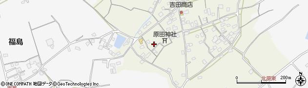 大分県中津市北原390周辺の地図