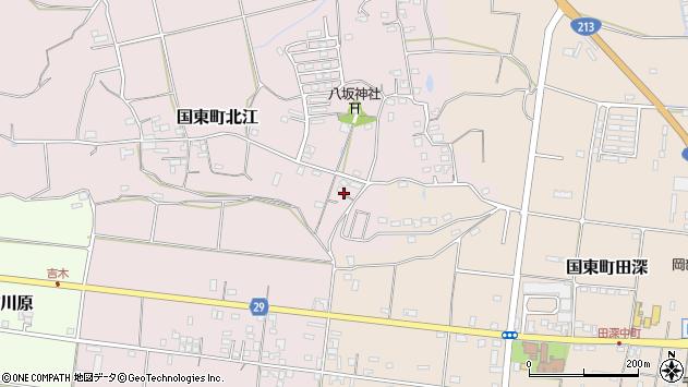 大分県国東市国東町北江845周辺の地図