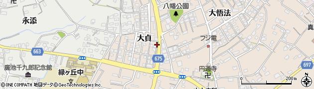 大分県中津市大貞342周辺の地図