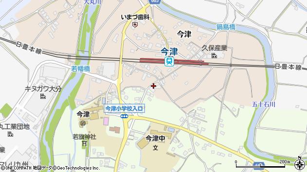 大分県中津市今津1080周辺の地図