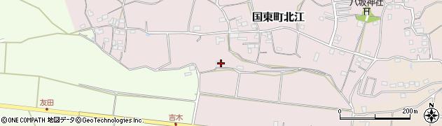 大分県国東市国東町北江413周辺の地図