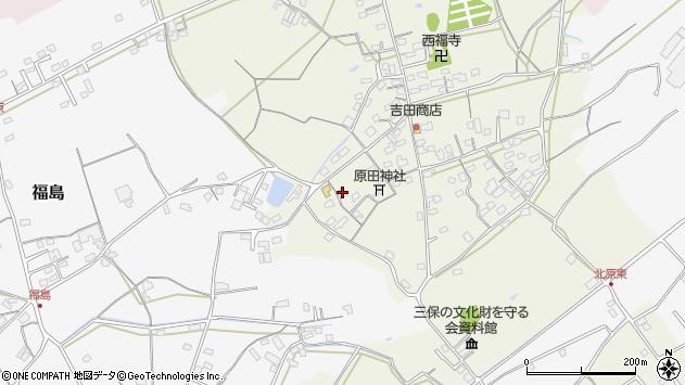 大分県中津市北原388周辺の地図