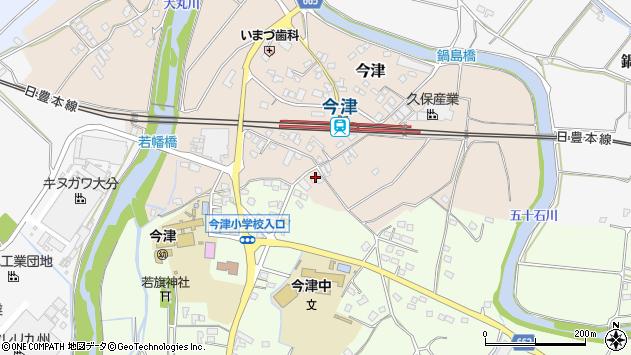 大分県中津市今津1077周辺の地図