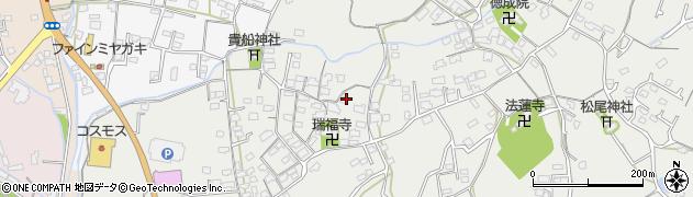 大分県中津市相原3586周辺の地図