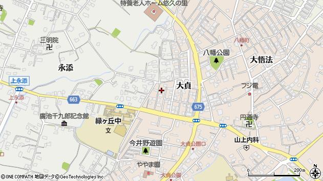 大分県中津市大貞321周辺の地図