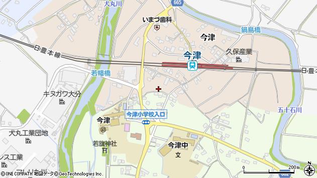 大分県中津市今津1085周辺の地図