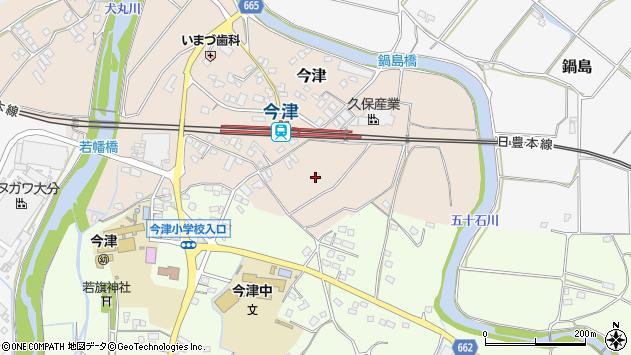 大分県中津市今津955周辺の地図