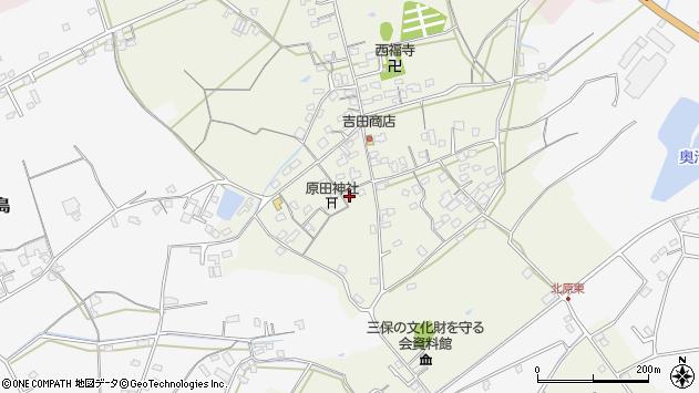 大分県中津市北原288周辺の地図